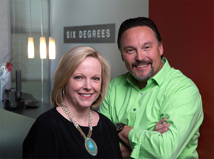 Six Degrees, the Southwest's top brand-building agency, has been selected as a semifinalist for the Innovation in Entrepreneurship Award for the 2015 Spirit of Enterprise Awards