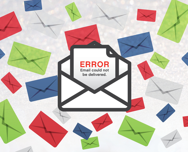 Error Email Could Not Be Delivered