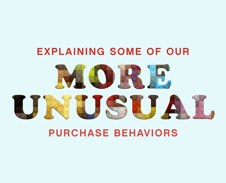 Explaining Some of Our More Unusual Purchase Behaviors