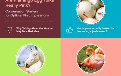 Are Flamingo Egg Yolks Really Pink? Conversation Starters for Optimal First Impressions
