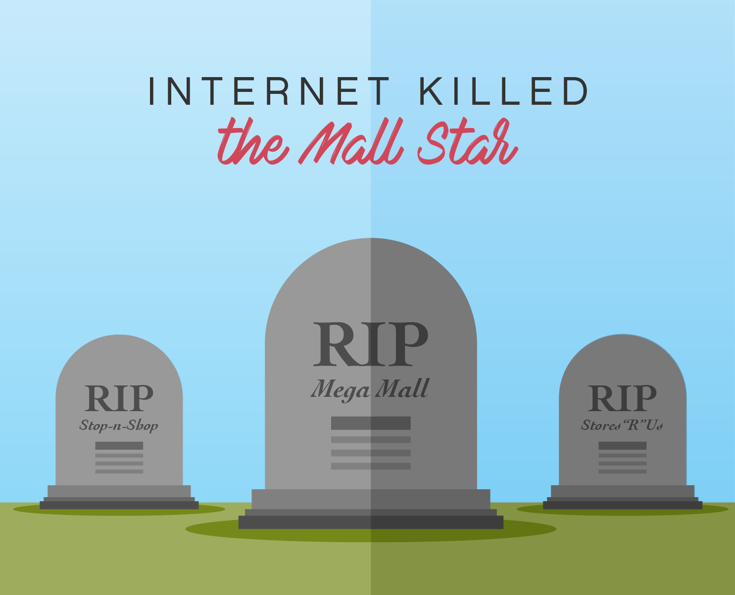Internet Killed the Mall Star