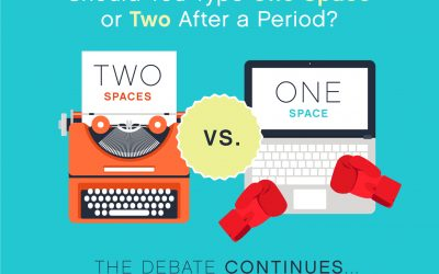 Should You Type One Space or Two After a Period? The Debate Continues …