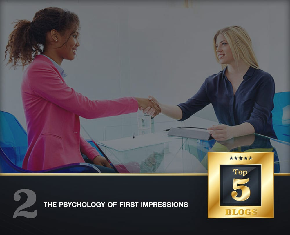 psychology of first impressions