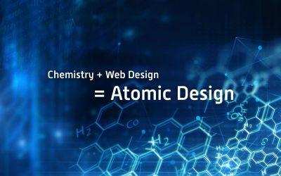 Chemistry + Web Design = Atomic Design