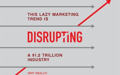 This Lazy Marketing Trend Is Disrupting a $1.2 Trillion Industry (Not Really)