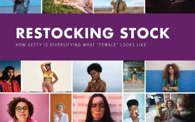 "Restocking Stock: How Getty is diversifying what ""female"" looks like"